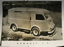 RENAULT 1 T Truck Lorry Commercial Photo Car Sales Sheet