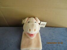 NEW Pig Plush Hand Puppet Ganz Heritage Collection Stuffed  10 inch ALL TAGS