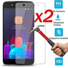 """2Pcs Premium Real Tempered Glass Screen Protector Film For Alcatel IDOL 4, 5.2"""""""