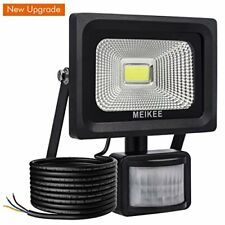 MEIKEE Security Lights with Motion Sensor, 10w Waterproof IP66 Led Sensor Outdoo