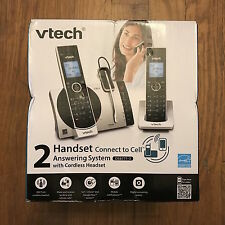 VTech DS6771-3 DECT 6.0 Expandable Cordless Phone, Link to Cell, Siri Google Now