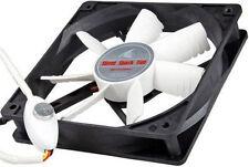 Evercool 120mm Silent Shark 12V DC Fan, 800-1400 RPM, w/ Speed Control, SSF-12