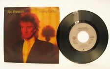 ROD STEWART: Young Turks b/w Sonny. 1981 Picture Sleeve. ETCHED MATRIX