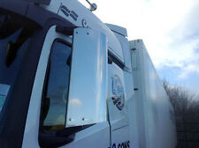 Mercedes Actros / Arocs 2013+ Wide CAB (2.5m) Stainless Steel Mirror Guards
