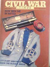Civil War Times Magazine How Men Die In Battle April 1983 083017nonrh