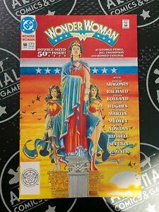 Wonder Woman #50 1991 JLA DC Comics NM- 9.2 Sergio Aragones George Perez