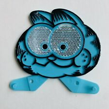 VTG Vintage 1978 Garfield the Cat Cartoon Bicycle Bike Reflector Blue