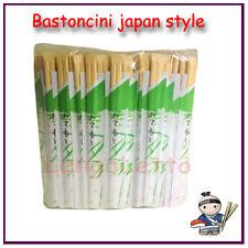 100 PAIA Bastoncini Bacchette Sushi Chopsticks di Bamboo Cucina Giapponese Japan