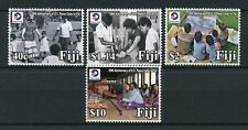 Fiji 2018 MNH US Peace Corps 50th Anniv 4v Set Volunteering Aid Stamps