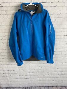 Salomon Clima Pro 10000 Ski Jacket Medium Blue