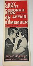 Vintage 1957 Cary Grant Deborah Kerr An Affair to Remember Movie AD 1950s 50s AD