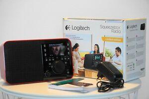 Logitech Squeezebox WLAN - Radio Musik-Player Internet Radio Netzwerk Streamer