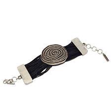 LUNAMOR Schmuck Statement Armband Armreif antik silber plattiert nickelfrei