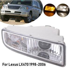 Fog Light For Lexus LX470 1998 1999-2006 2007 Front Bumper Cover Lamp Blub Right