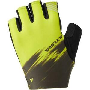 Altura Airstream Road Fingerless Cycling Gloves - Yellow