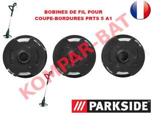 PARKSIDE®  3 Bobines de fil pour coupe-bordures PRTS 5 A1 POUR COUPE BORDURE