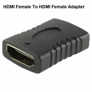HDMI Female to HDMI Female Adapter Plug Cable Converter Connector