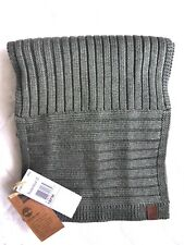 New TIMBERLAND Charcoal 30% WOOL Scarf 198 x 23cm Genuine Tags NEW
