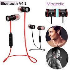 Wireless Sports Bluetooth V4.1 In-Ear Magnet Headphone Earbuds Headset Earphones