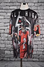 "Matt Ryan ""Fly High"" Over sized Graphic Pullover Crewneck Size 5XL"
