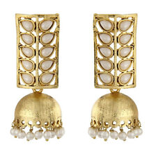 Bollywood Indian Traditional Ethnic Royal Jhumka Jumki Gold Plt Earring Gold Plt