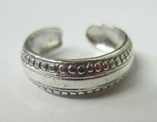 Toe Ring Solid 925 Jewelry 2pcs Solid 925 Sterling Silver Adjustable