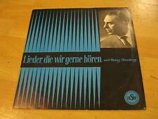 LP Frohe Botschaft im Lied Lieder die wir gerne hören Stossberg HSW 33 727