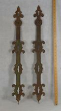 fence posts cast iron Victorian fancy architecture baluster 1860  antique