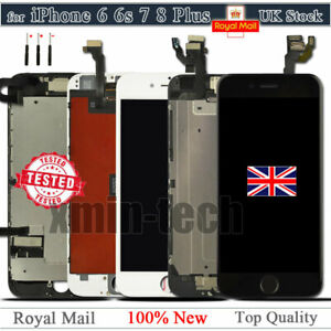 For iPhone 6 6S 7 8+ SE2 Screen Replacement LCD Digitizer Touch Display Camera
