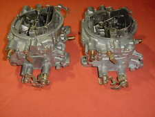 Edelbrock 500 CFM carburetor 2x4 dual quad SCTA GASSER RaT RoD Chevy Ford SBC