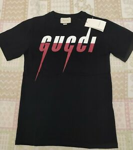 T Shirt Gucci Blade Taglia S-L Uomo Donna Unisex Nera