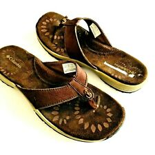 Womens Columbia Sandals 8 Flip Flops Shoes Brown Kaila Thong NEW