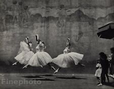 1938/72 Vintage ANDRE KERTESZ New York City Ballet Dancers Ballerina Photo 11x14