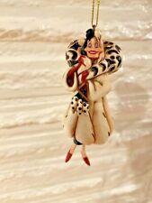 Jim Shore Disney Villians Holiday Ornament Cruella Deville