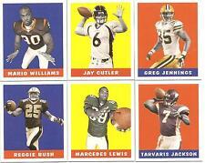 Lot of 35 2006 Leaf 1948 Football Rookies & Stars Complete Set 1-35