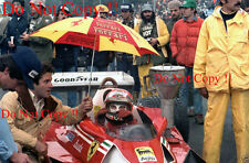 Niki Lauda Ferrari 312 T2 EE. UU. Grand Prix 1977 fotografía