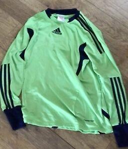 Adidas Boys FOR-MOTION Clima Cool Goalkeeper Green Padded Goalkeeper Shirt