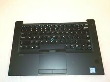 Dell Latitude 7480 Palmrest Touchpad Keyboard Fingerprint Reader -NIG07 JRNNN