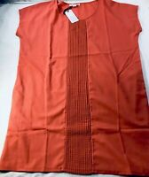 Loveriche Mango Sun Dress Summer Mini Orange Lightweight Casual Dress S Small