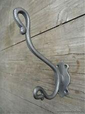 Un elegante stile antico tronco DOUBLE coathook Ghisa Gancio Appendiabiti Rack R4