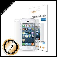 iPhone 5 Screen Protector Anti-Scratch Clear 2x Front Back Cover Guard