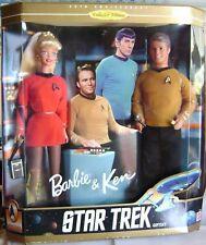 Star trek-Enterprise-Giftset Barbie & Ken Kirk 1996 30th Anniversary NRFB