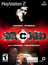 Stacked With Daniel Negreanu (Sony PlayStation 2, 2006) w/ Manual