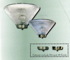 Brushed Nickel Or Polished Brass Wall Fixture