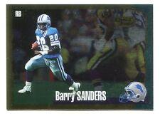 1994 Score Gold Zone Barry Sanders #1 Detroit Lions