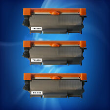 3PC TN450 Toner Cartridge for Brother MFC-7360N DCP-7065DN 7060D HL-2132 2242D