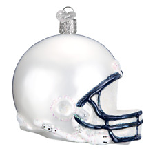 """Penn State Helmet"" (64617) Old World Christmas Glass Ornament"
