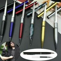 Multifunction Tactical EDC Knife Pen Stainless Steel Anti Wolf Writing Pen Gift