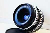 RARE Zebra Carl Zeiss Jena TESSAR Germany lens 50mm f/2.8 M42 mount EXC