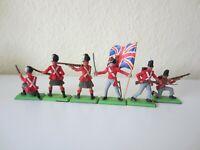 Britains Deetail 1971 ltd. Waterloo britische Infanterie Satz (komplett)
